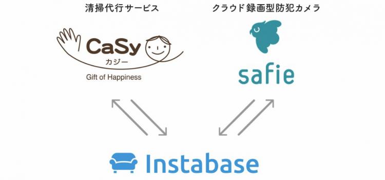 レンタルスペース予約サービス「インスタベース」の「マーケットプレイス構想」にCaSyとセーフィーが新たに参画