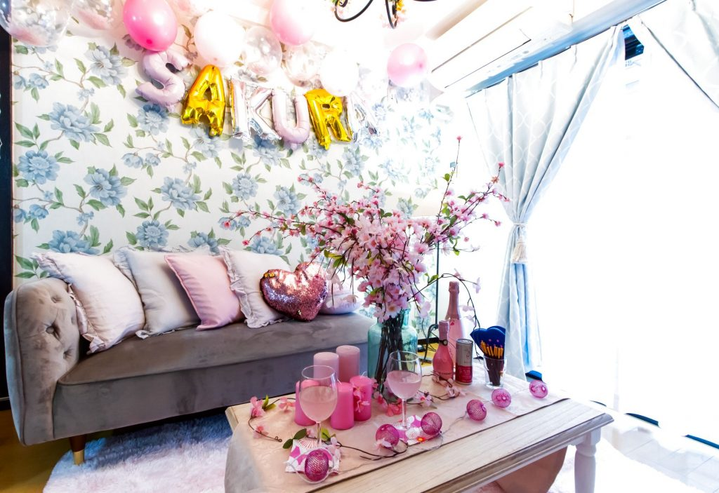 室内花見対象スペース「Villaサファイア渋谷」