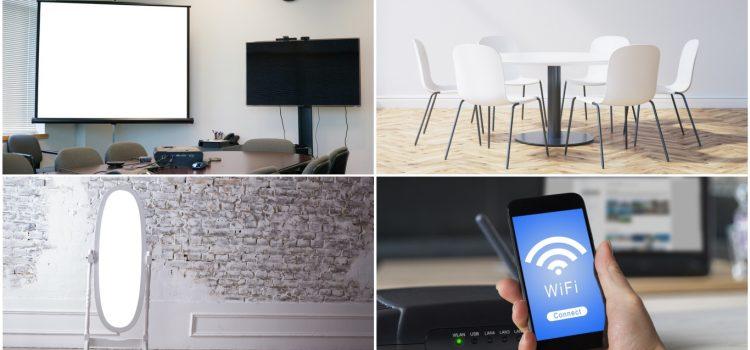 必見!レンタルスペースで人気の家具・備品・設備を大公開